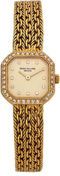 Patek Philippe Ref. 4656/2 Lady's Gold & Diamond Wristwatch