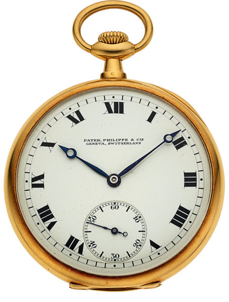 Patek Philippe & Cie 18k Gold Pocket Watch, circa 1912
