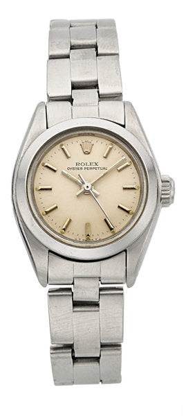 Rolex Lady's Oyster Perpetual Stainless Steel Wristwatch Ref. 6718