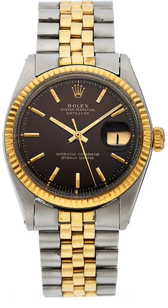 Rolex Ref. 1601 Two Tone Datejust With Tropical Dial, circa 1964