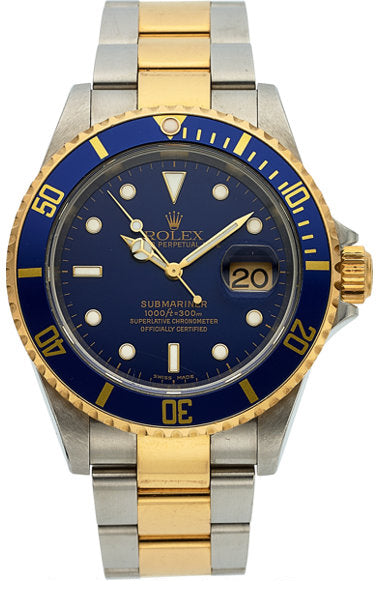 Rolex Ref. 16613 Two Tone Oyster Perpetual Date Submariner, circa 2002