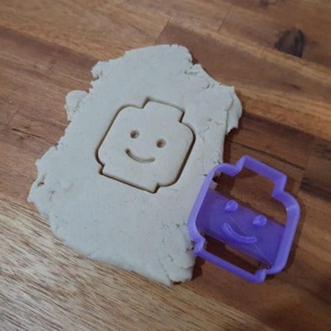 lego face cookie cutter