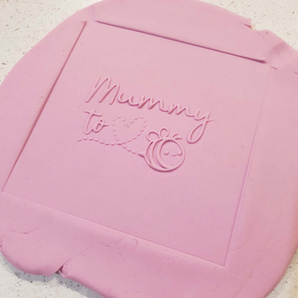 Mummy to Bee Raised Embosser - just-little-luxuries