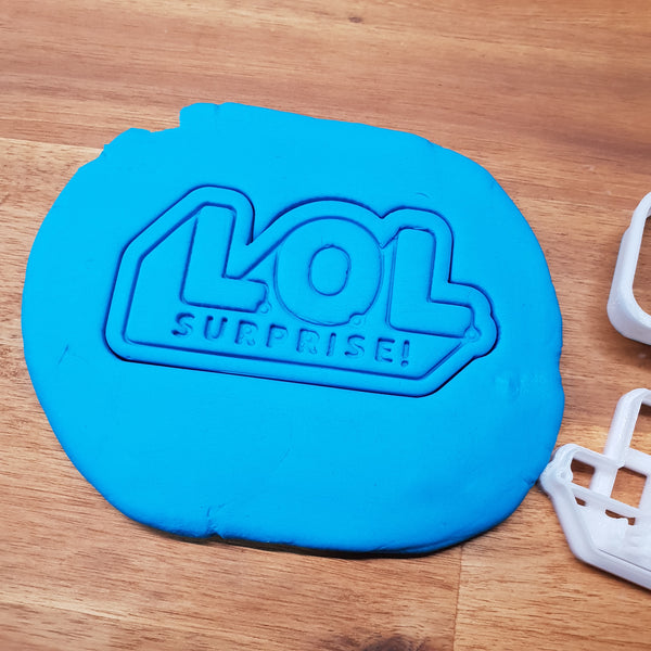 L.O.L. Surprise Doll Logo Cookie cutter. - just-little-luxuries