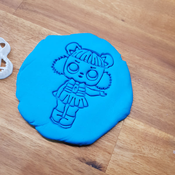 L.O.L. Surprise Doll Snow Angel Cookie cutter. - just-little-luxuries