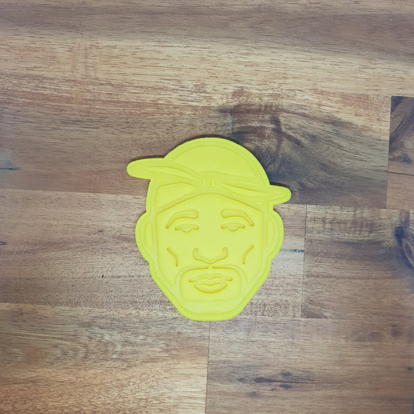 2Pac Cookie Cutter and Embosser