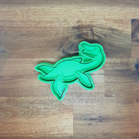 Elasmosaurus - Dinosaur Cookie Cutter and Embosser.