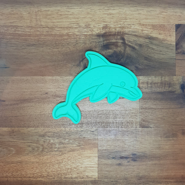 Dolphin Cookie Cutter and Embosser.