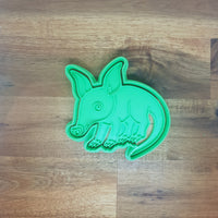 Aardvark Cookie Cutter and Embosser.