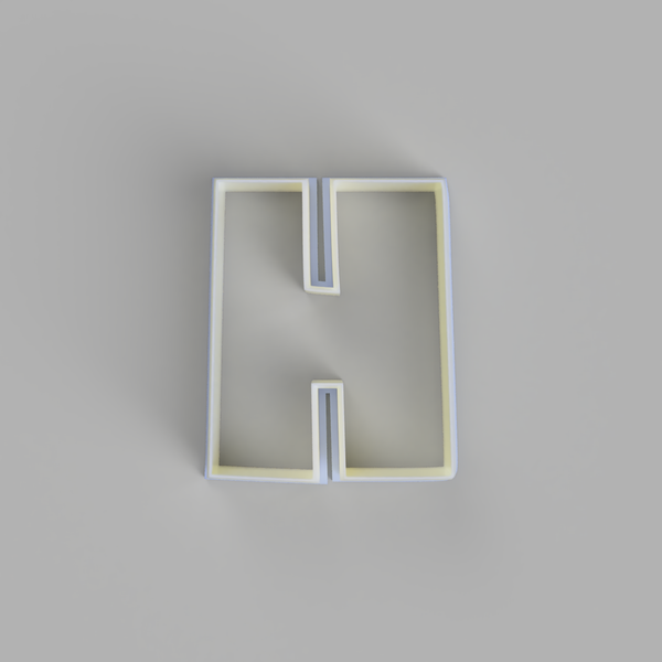 Capital H - Alphabet Cookie Cutters