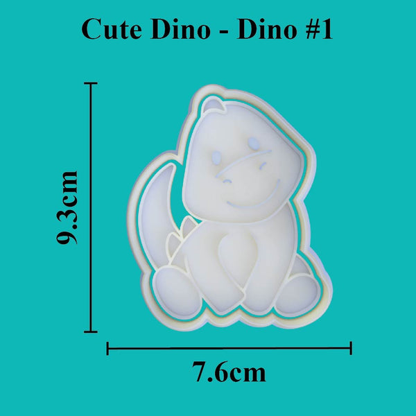 Cute Dino - Dino #1 - just-little-luxuries