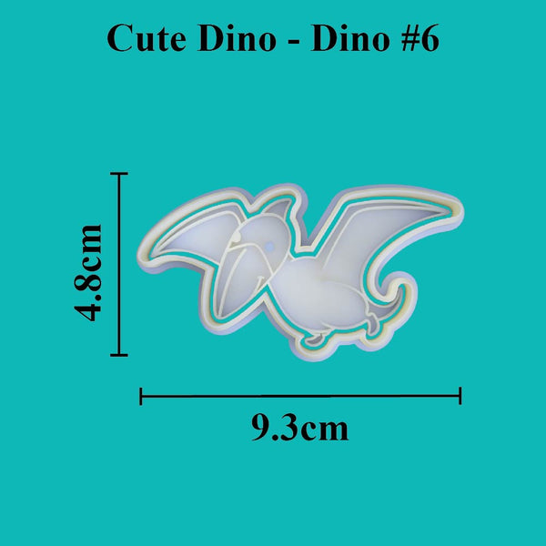 Cute Dino - Dino #6 - just-little-luxuries