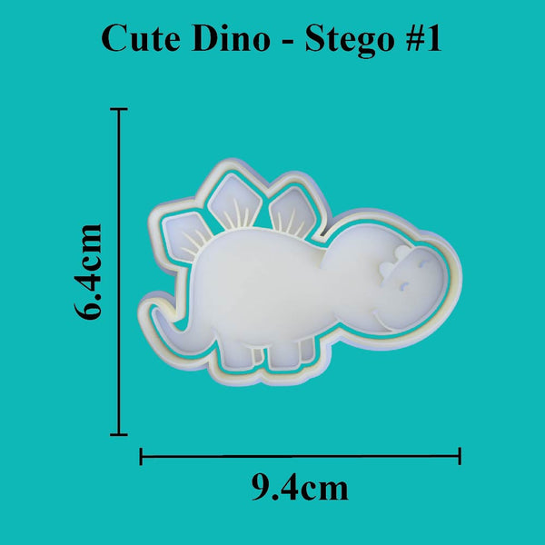 Cute Dino - Stego #1 - just-little-luxuries