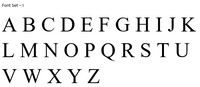 Monogram Raised 3D Cookie Embosser. Font Type I - just-little-luxuries