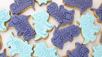 Dinosaur Skeleton Cookie Cutter and stamper set - just-little-luxuries