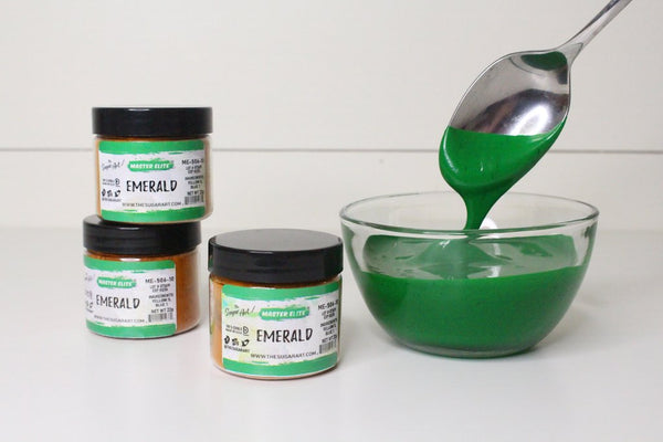 Emerald (ME-506-10) - Master Elite Colors by The Sugar Art - just-little-luxuries