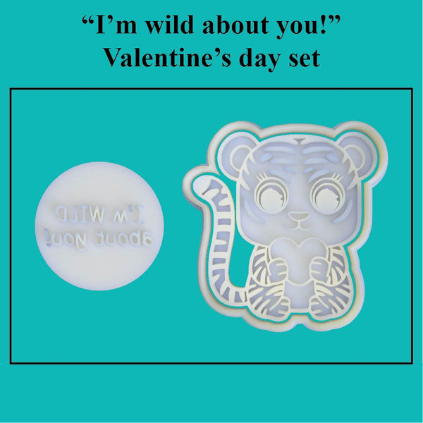 """I'm wild about you!"" Valentine's Day Set - just-little-luxuries"