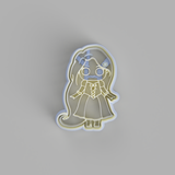 Chibi Rapunzel Cookie Cutter - just-little-luxuries