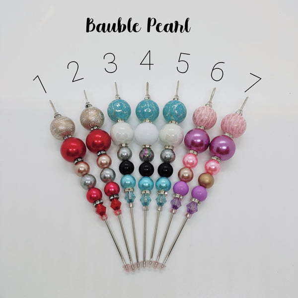 Bauble Pearl Cookie Scribe