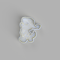 Paw Patrol - Everest Christmas Cookie Cutter and Embosser.