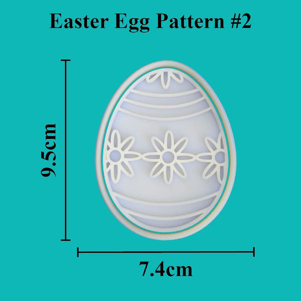 Easter Egg Cutter and Embosser. Pattern #2 - just-little-luxuries