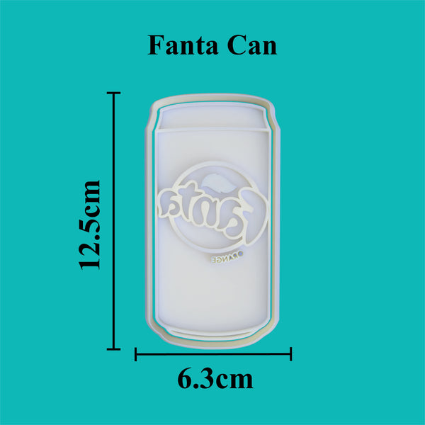 Fanta Can Cookie Cutter and Embosser.