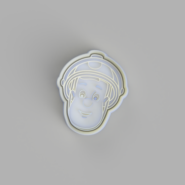 Fireman Sam Cookie Cutter - just-little-luxuries