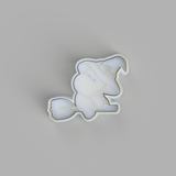 Halloween Hippo - Witch Cookie Cutter