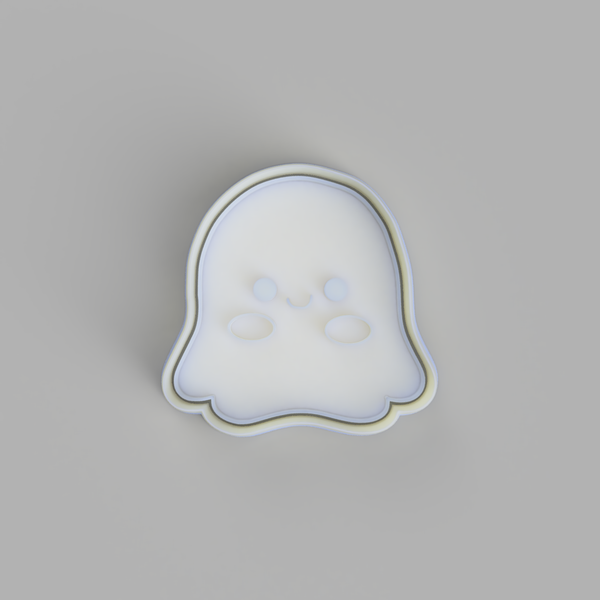 Halloween Plushies - Ghost Cookie Cutter