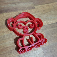 Baby Monkey Cookie Cutter - just-little-luxuries