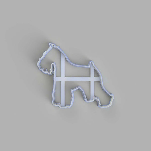 Schnauzer dog cookie cutter - just-little-luxuries