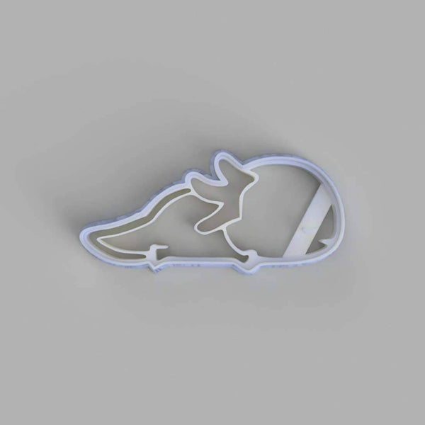 Sleeping axolotl cookie cutter - just-little-luxuries