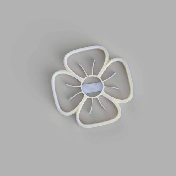 Flower with Four Petals Cookie Cutter - just-little-luxuries