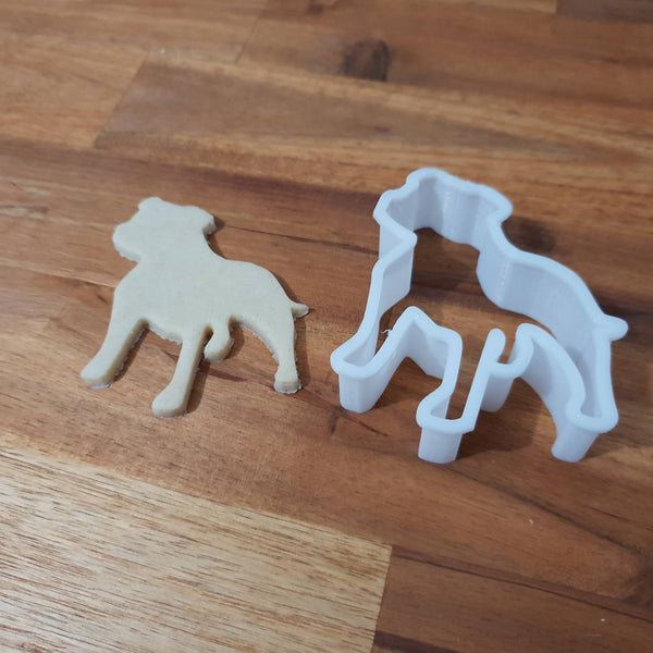 Staffy Staffordshire Terrier cookie cutter - just-little-luxuries