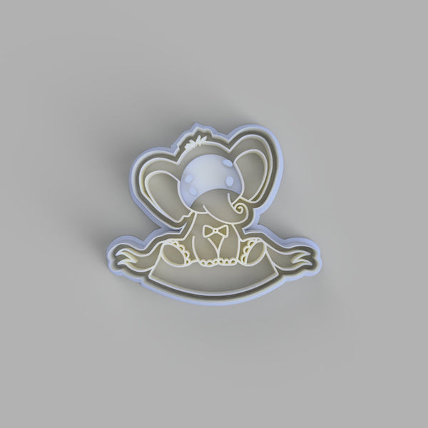 Baby Elephant Cookie Cutter - just-little-luxuries