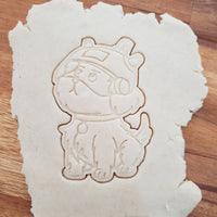 Snowball Rick and Morty Cookie Cutter - just-little-luxuries