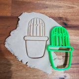 Happy cactus cookie cutter - just-little-luxuries