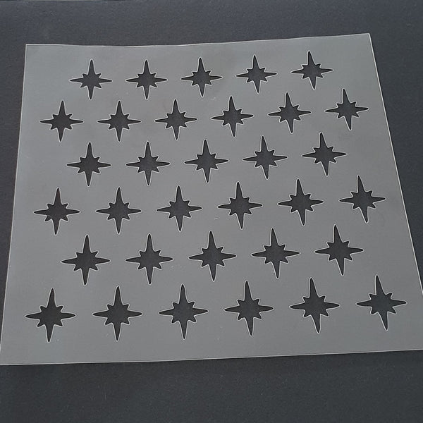 Stars Pattern Cookie Stencil - just-little-luxuries