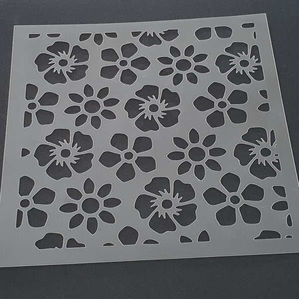 Flower Pattern Cookie Stencil - just-little-luxuries