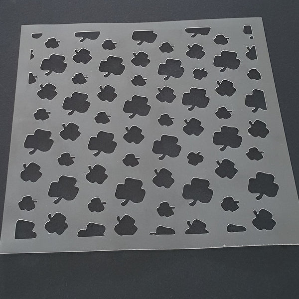 Shamrock Patter Cookie Stencil - just-little-luxuries