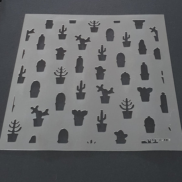 Cactus Cookie Stencil - just-little-luxuries