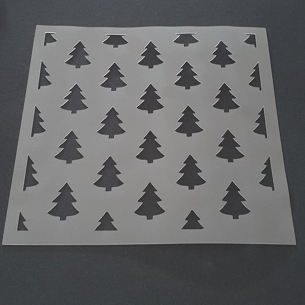 Pine Tree Cookie Stencil - just-little-luxuries
