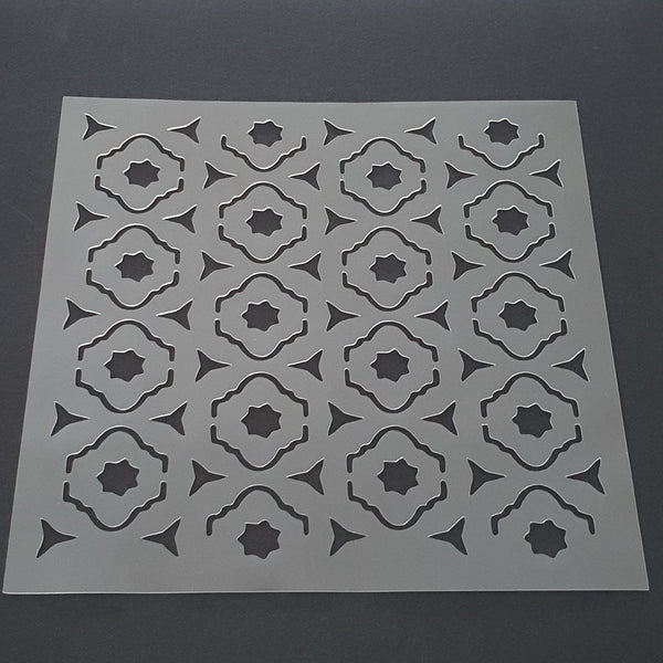 Moroccan Pattern Cookie Stencil - just-little-luxuries