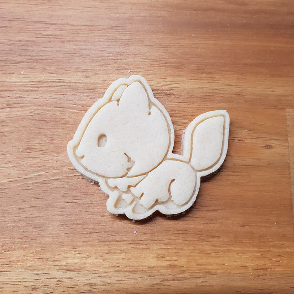 Fox cookie cutter and stamper - just-little-luxuries