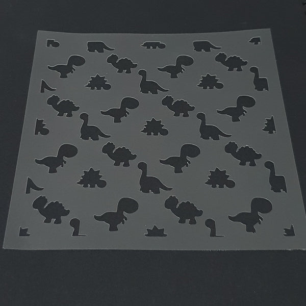 Dinosaur Pattern Cookie Stencil - just-little-luxuries