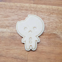 Gingerbread Man with Bite Cookie Cutter - just-little-luxuries