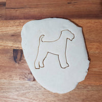 Airedale Terrier Silhouette Cookie Cutter - just-little-luxuries