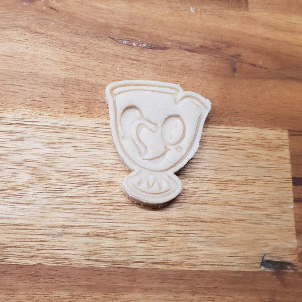 Chibi Chip Cookie Cutter and stamp - just-little-luxuries
