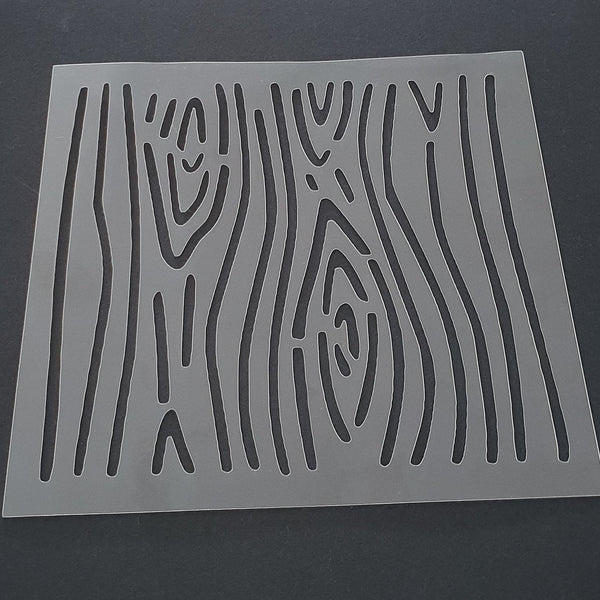 Wood Grain Pattern Cookie Stencil - just-little-luxuries