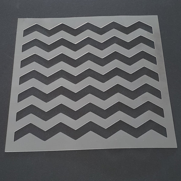 Chevron Pattern Cookie Stencil - just-little-luxuries